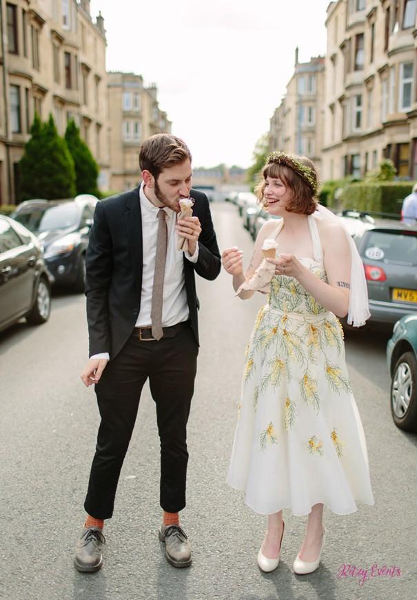 An alternative wedding dress code