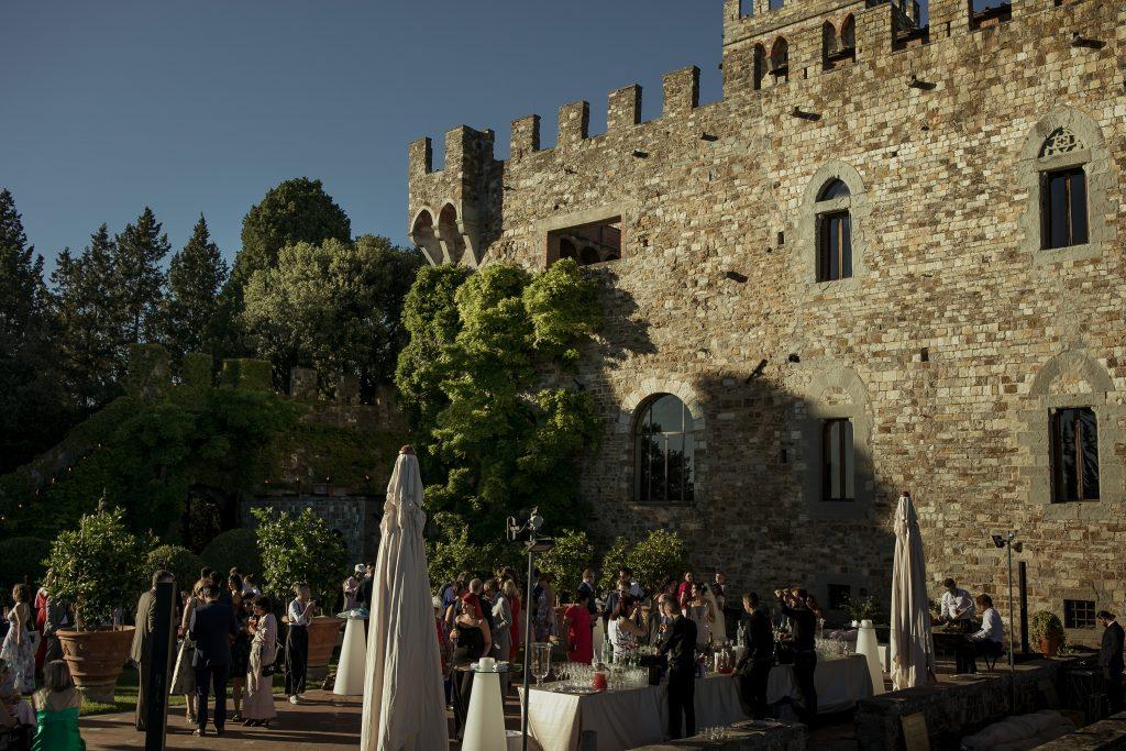 Castello wedding in Italy