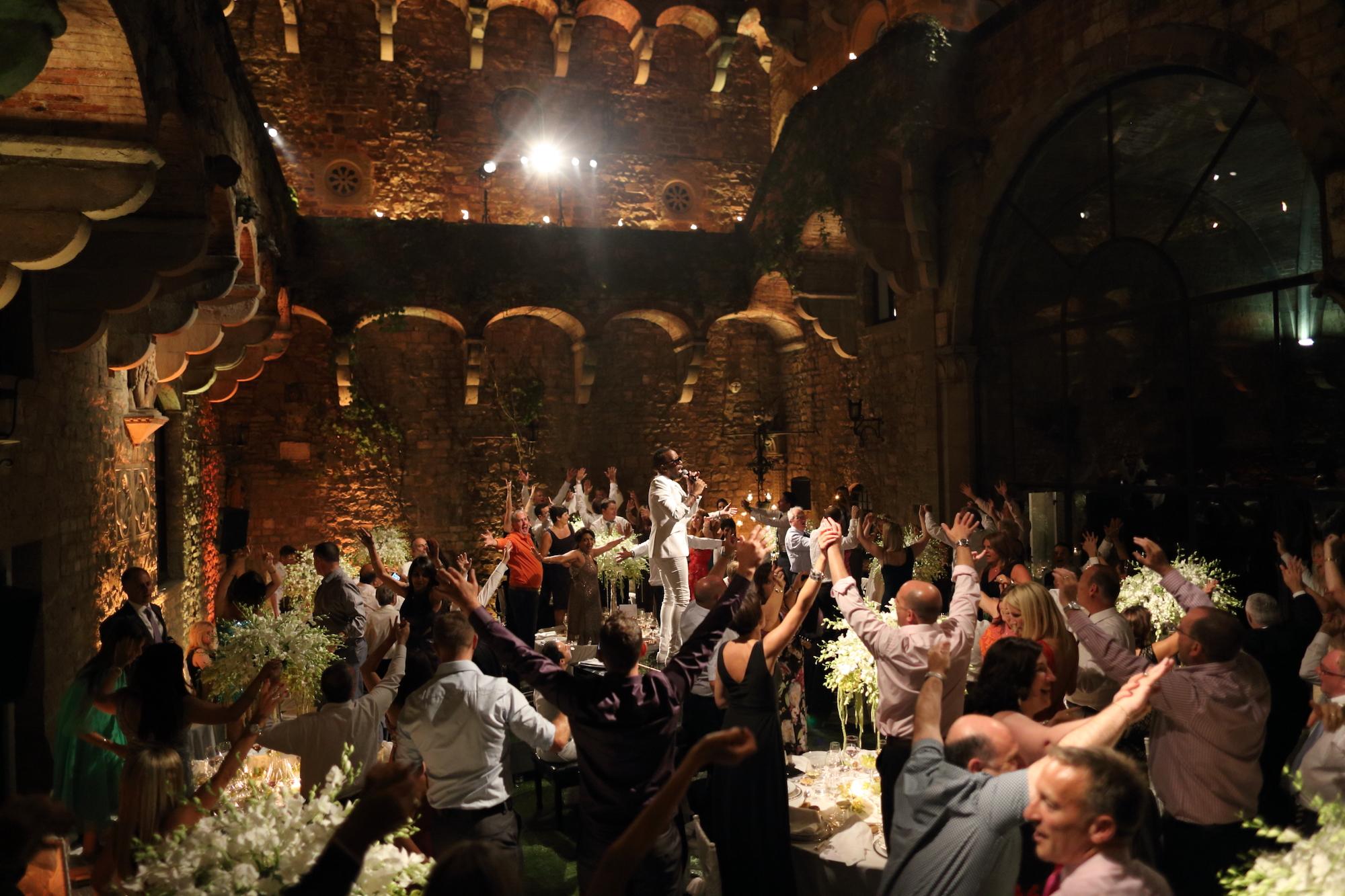 wedding reception ideas Italy