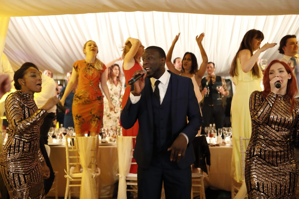 Wedding Entertainemnt - dancing on chairs