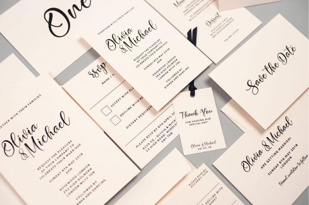 Dimitria Jordan Wedding Stationery Suite