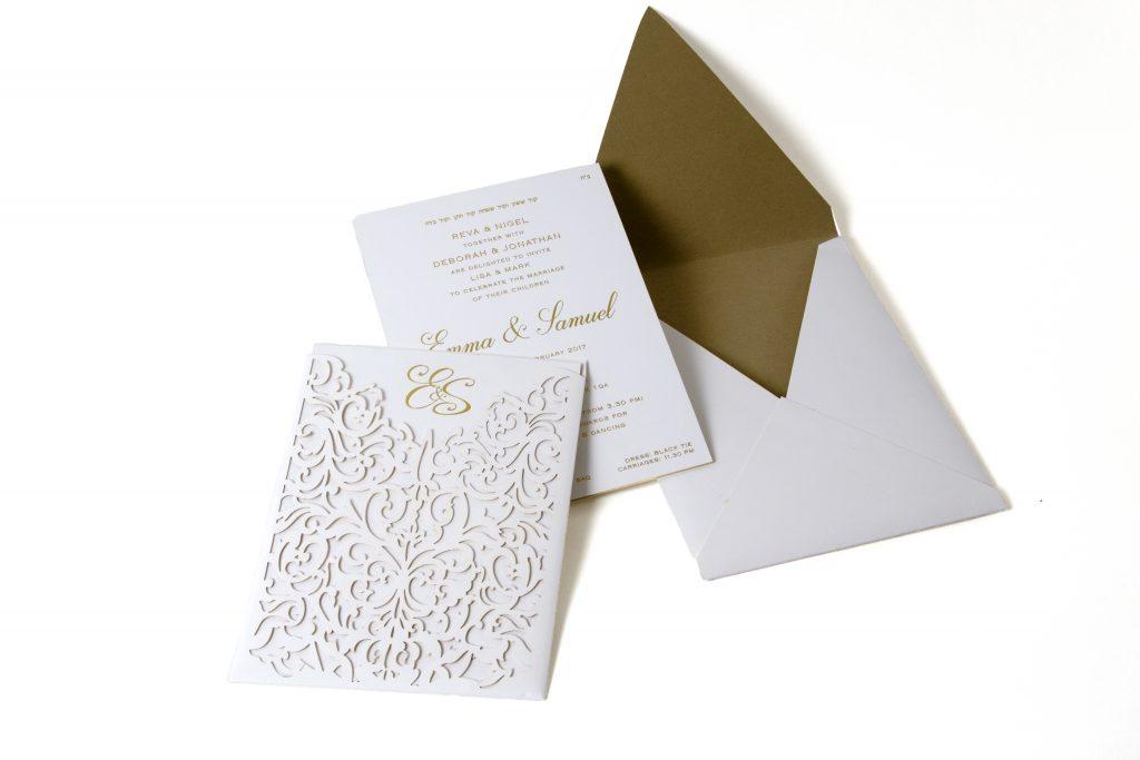 Bigday Designs Wedding Invitation