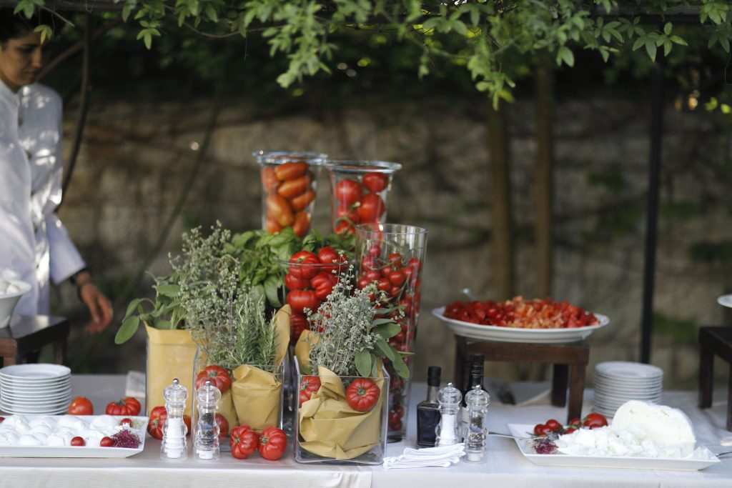 Italian Wedding Tradition - Caprese Station