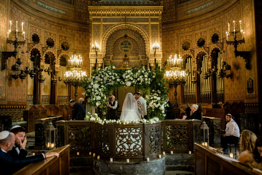 Florah chuppah Great Synagogue of Florence