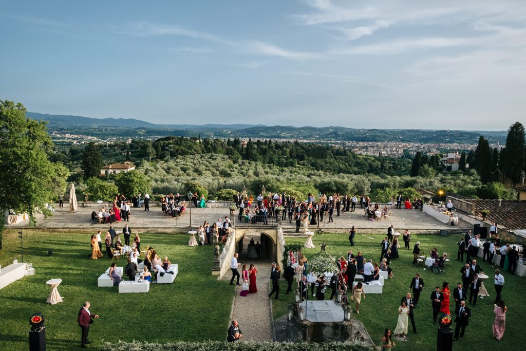 Villa Di Maiano luxury destination wedding Italy