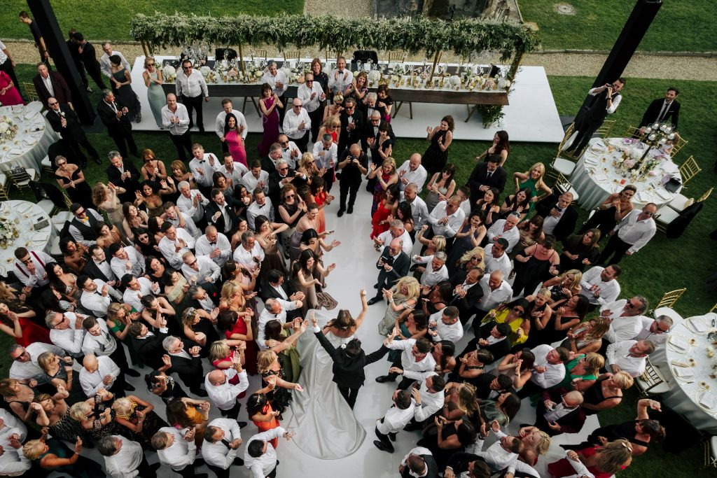 Luxury Italian destination wedding