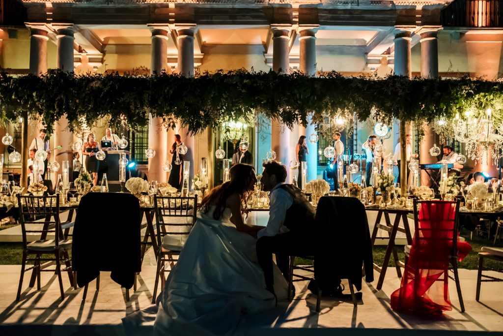 Villa di Maiano luxury wedding
