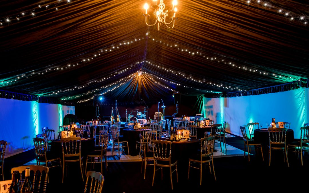 60th birthday marquee party