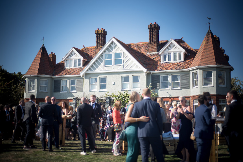 Country House weekend wedding Essex coast