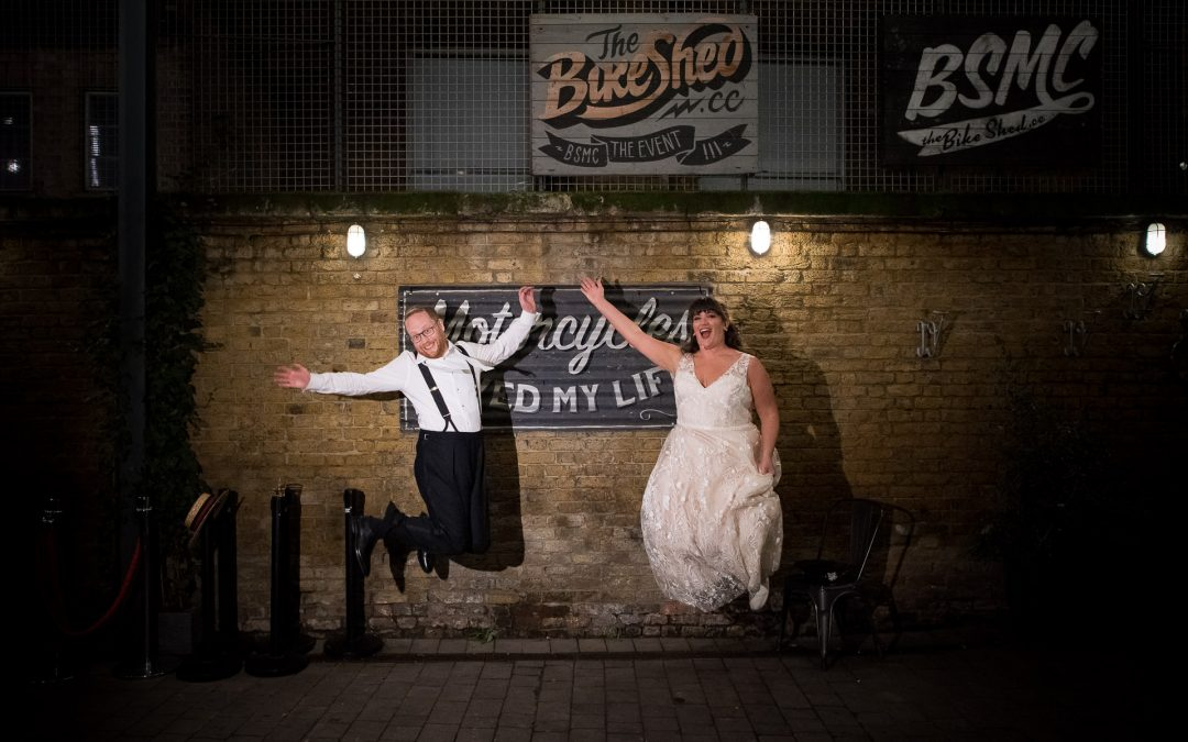 Mary Poppins themed wedding with Jewish ceremony in London