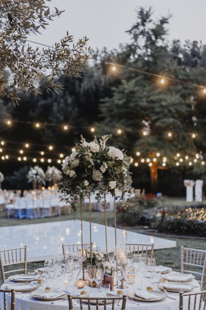 Destination wedding planner -Italian outdoor wedding