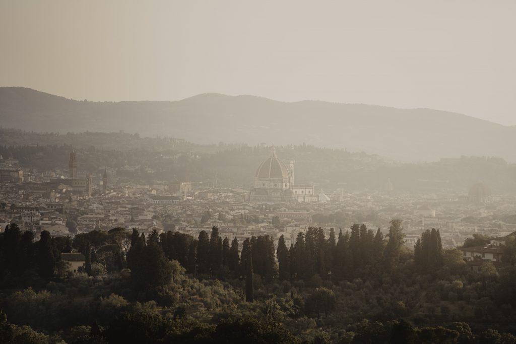 Villa di Maiano view