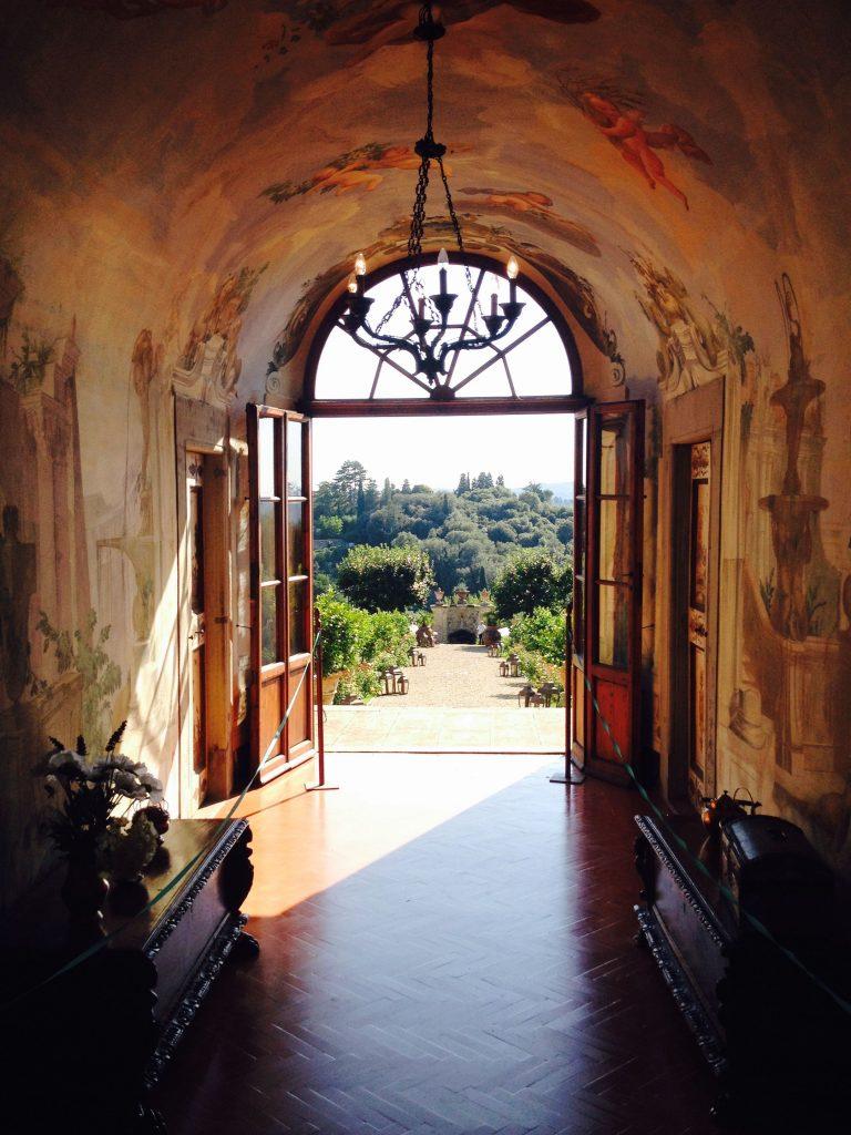 Villa Medicea di Lilliano - fresco
