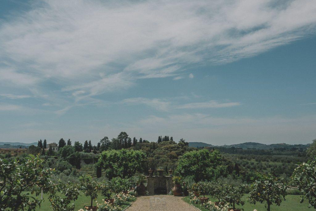 villa-medicea-di-lilliano garden