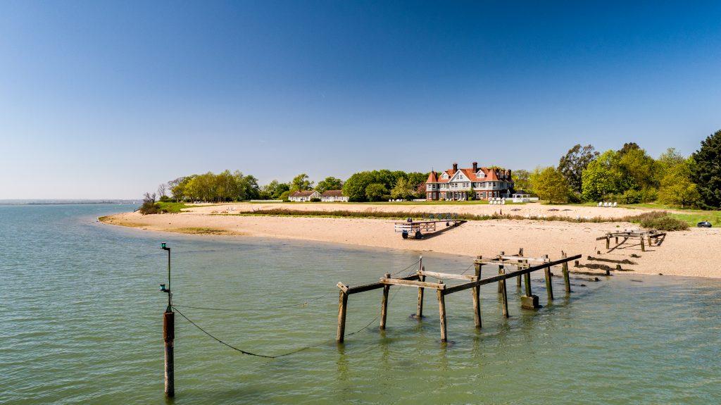 Uk Destination WEdding Weekend - destination wedding planner - osea island coast view