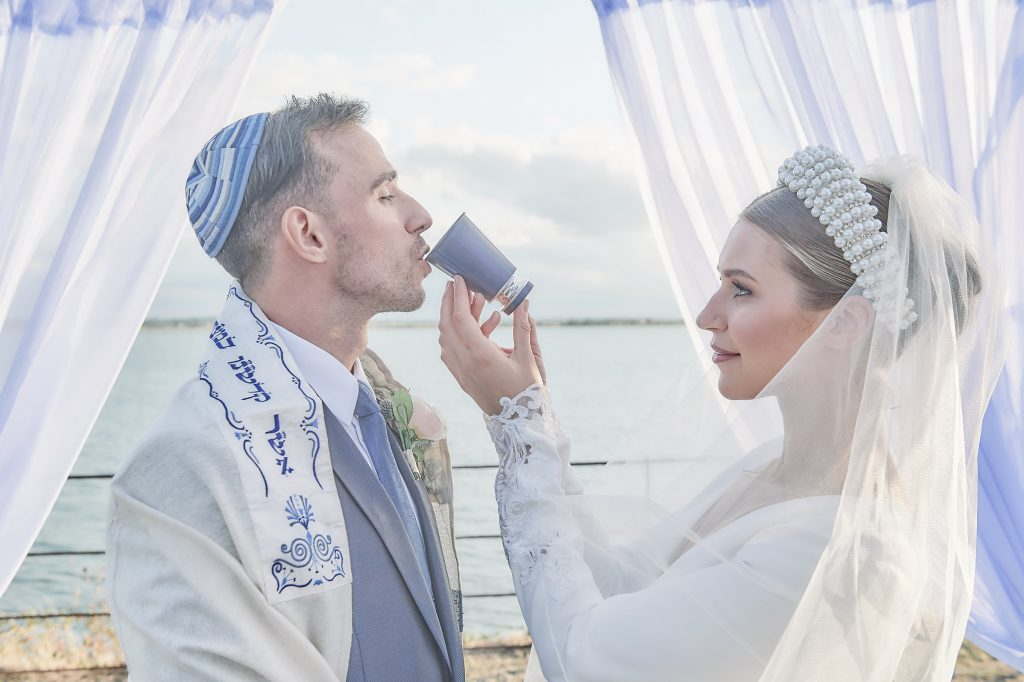 UK Jewish destination wedding - chuppah