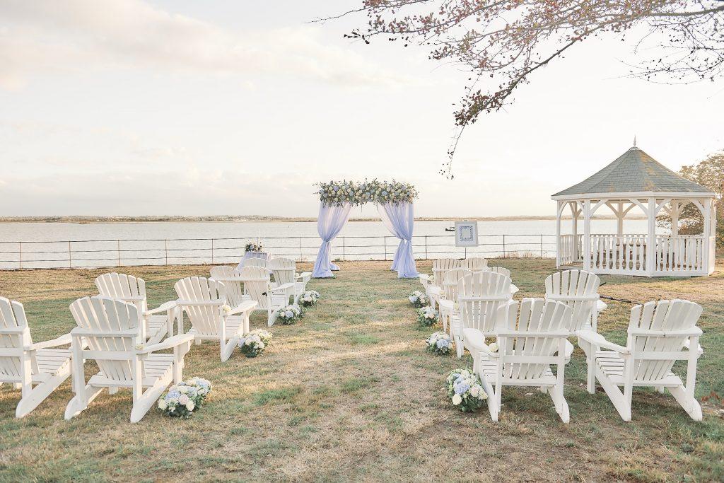 Jewish wedding planner - jewish destination wedding weekend - airondack chairs
