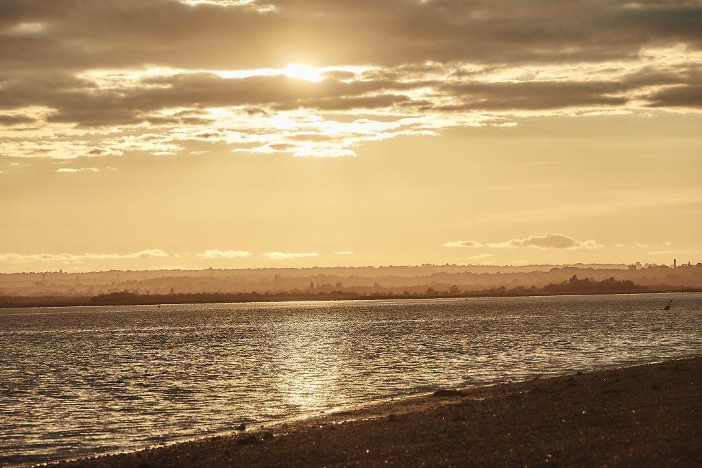jewish wedding planner - jewish destination wedding on osea island - sunset