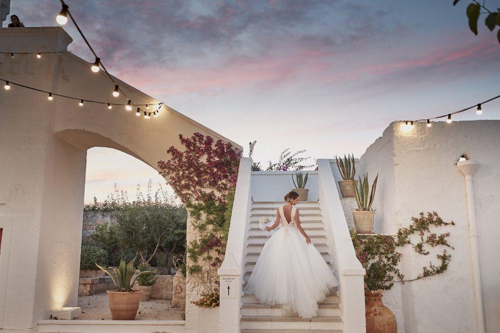 Destination wedding planner - Masseria Torre coccaro bride