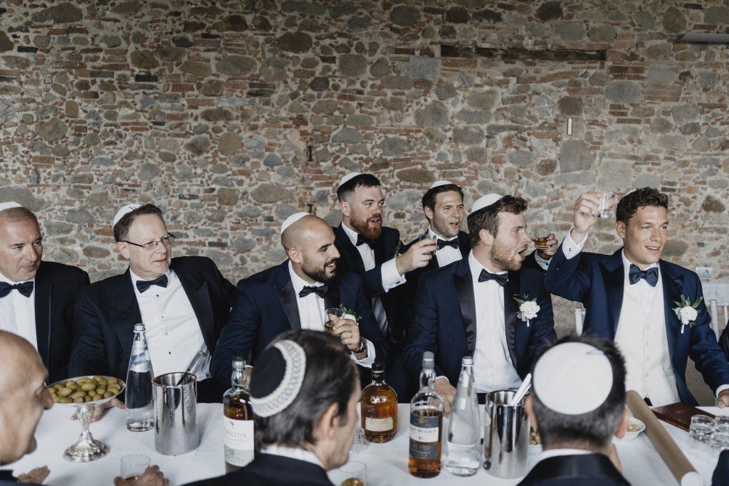 jewish wedding planner - jewish wedding traditions - tisch